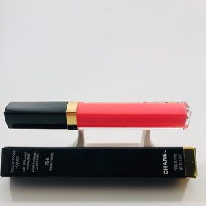 Chanel Rouge Coco Gloss 728 Rose Pulpe